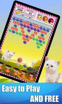Bubble Shooter Jungle Cat poster