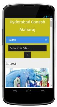 Hyderabad Ganesh Maharaj screenshot 6