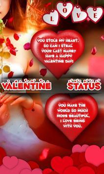 Valentine Status poster
