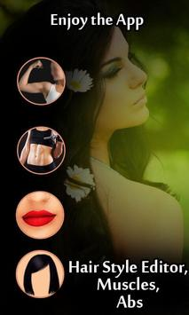 Beautiful Girl – Hair style , muscles, Abds poster