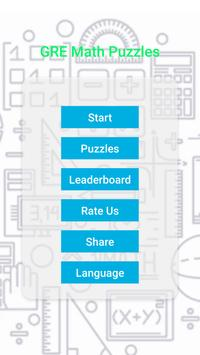 GRE Math Puzzles - GRE  Logical Reasoning poster