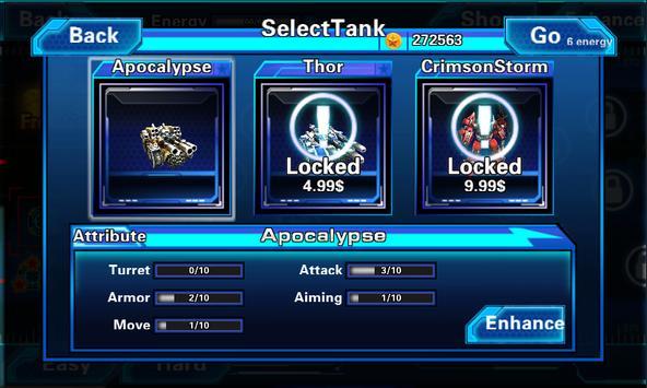 TankWar3D RedAlert apk screenshot