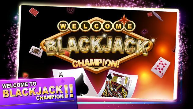 Blackjack Champion! Casino 21 apk screenshot