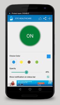 Eyes Care - Blue Light Filter screenshot 1