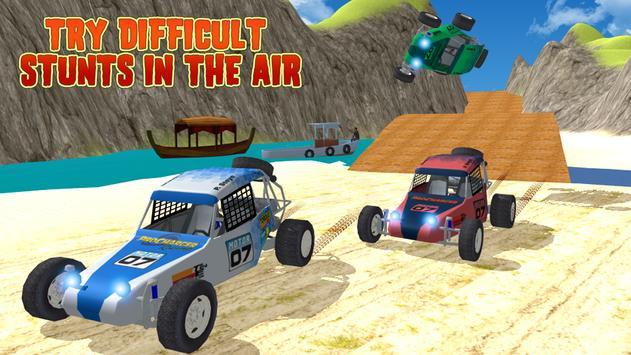 Beach Kart Racing Stunt Rider poster
