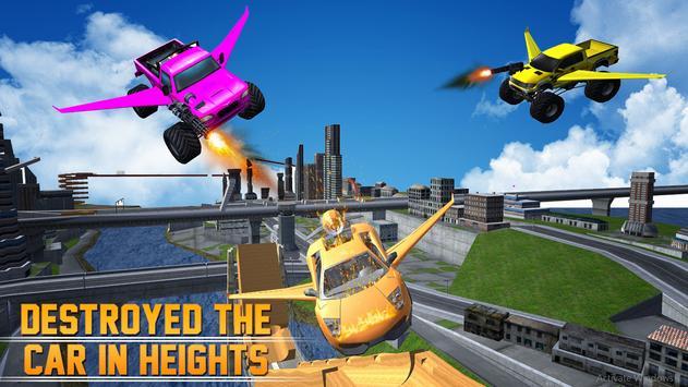 Flying Monster Truck Legend 3D poster
