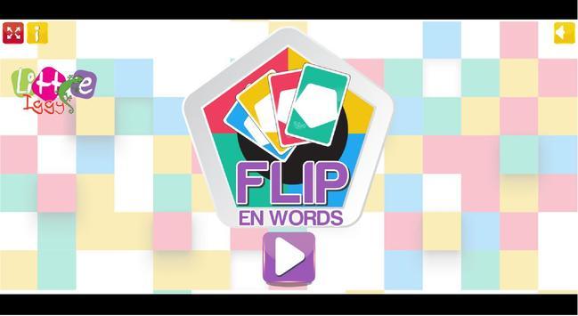 FLIP - en Words poster