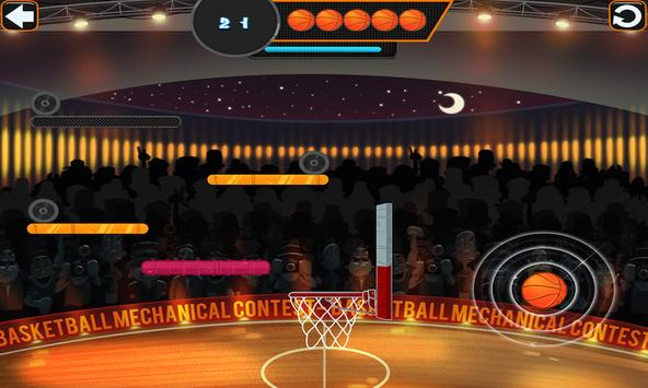 Basketball Mechanical Contest apk screenshot