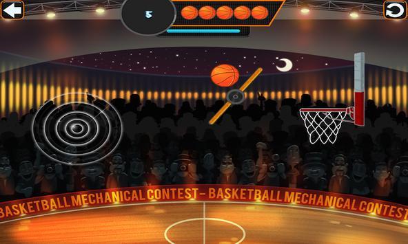 Basketball Mechanical Contest screenshot 2