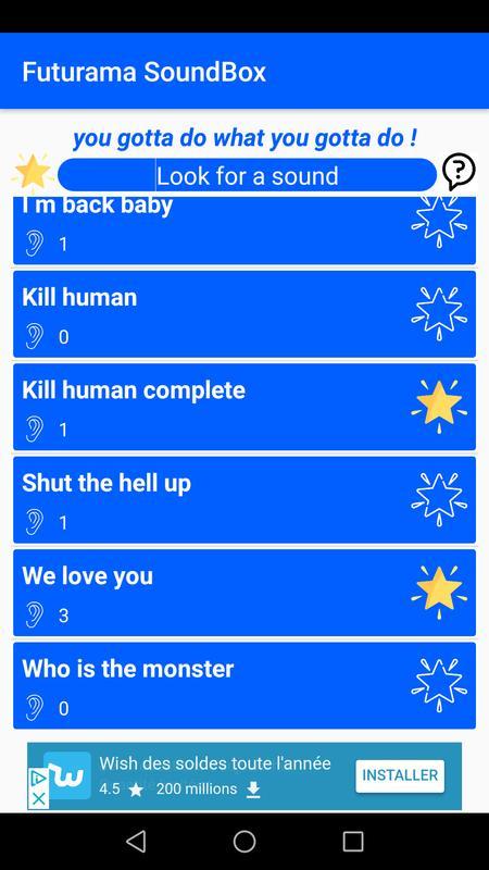futurama fan soundboard for android apk download