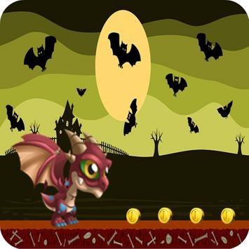 Dragon Zombie Run To Adventure poster