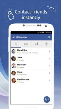 gp Messenger screenshot 1
