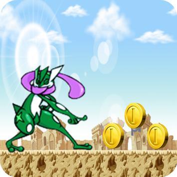 Frog Aob Ninja Gravity poster