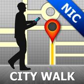 Nicosia Map and Walks icon