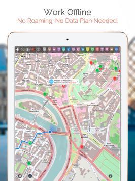 Nicosia Map and Walks apk screenshot