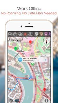 Greensboro Map and Walks apk screenshot