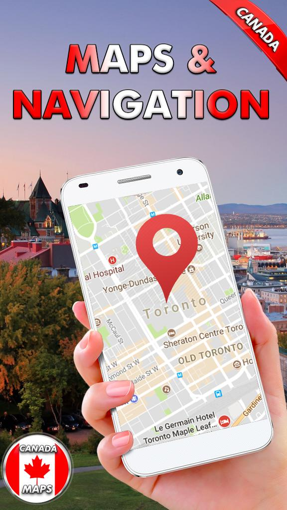 Canada Street View Live Map & Route Finder for Android   APK Download