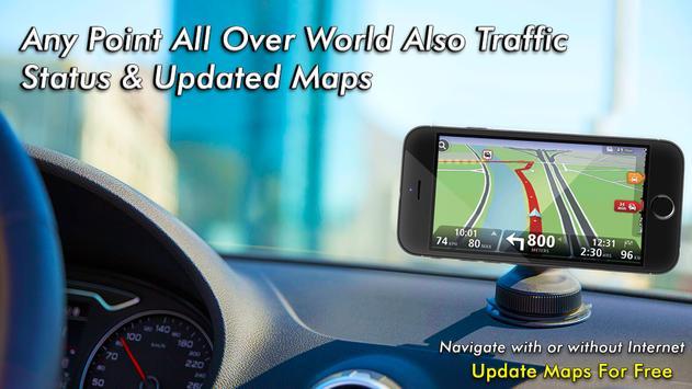 GPS Navigatie - Kaarten Richting, Live Street View screenshot 1