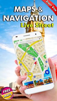 GPS Navigatie - Kaarten Richting, Live Street View screenshot 3