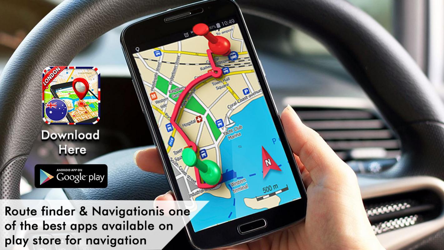 london street view live app gps satellite map apk screenshot