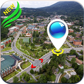 GPS Navigation: Satellite maps, Driving Directions icon