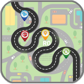GPS Navigation Route Finder icon