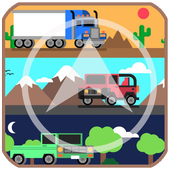 GPS Navigation Trucks icon