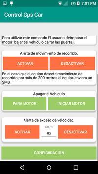 Control localizador GPS Car screenshot 1