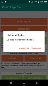Control localizador GPS Car screenshot 3