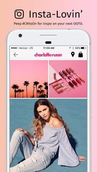 Charlotte Russe apk screenshot