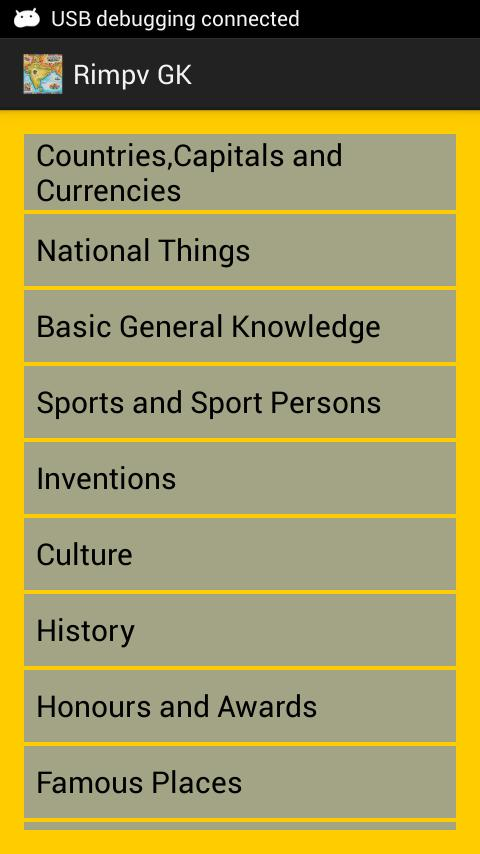 India GK general knowledge for Android - APK Download