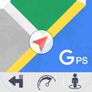 GPS Kaarten Navigatie doorvoer-Kompas Street View-APK