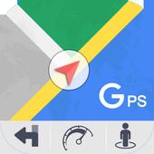 GPS Kaarten Navigatie doorvoer-Kompas Street View-icoon