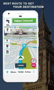 GPS Kaarten Navigatie doorvoer-Kompas Street View screenshot 3