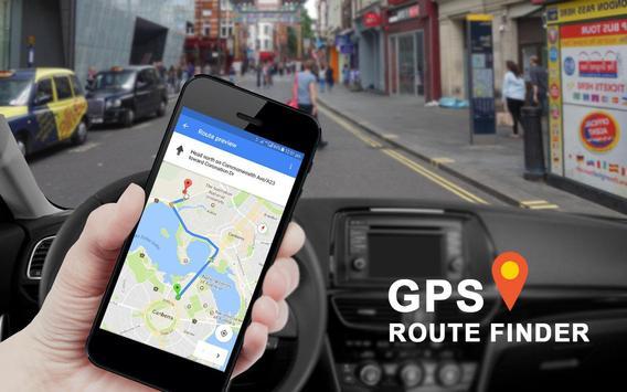 GPS Kaarten Navigatie doorvoer-Kompas Street View screenshot 16