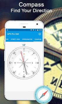 GPS Kaarten Navigatie doorvoer-Kompas Street View screenshot 7