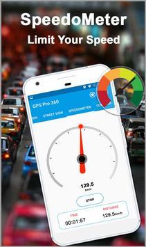 GPS Kaarten Navigatie doorvoer-Kompas Street View screenshot 5