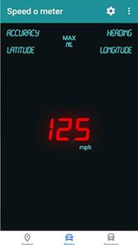 GPS SpeedoMeter poster