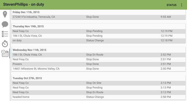FSM Driver™ for Fleet Trackit apk screenshot