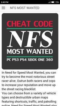 Download Cheat Code For Nfs Need For Speed Most Wanted Game Apk