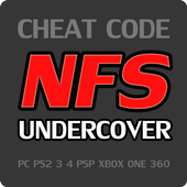 Cheat Code for Need for Speed Undercover Games NFS icon