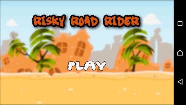 Risky Road Rider poster