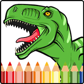 Dinosaurs Coloring Book: Jurassic Dino World icon