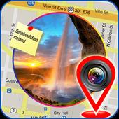 GPS Map Camera: Share My Photo Location: GPS Maps icon