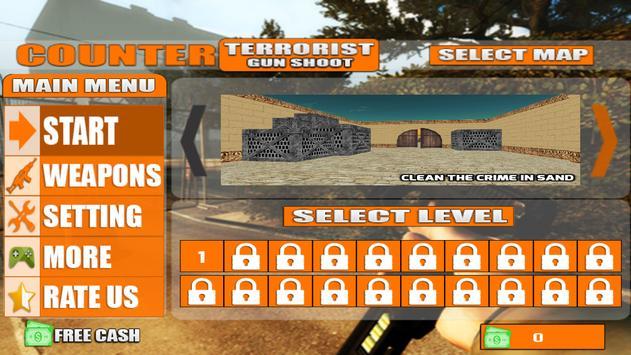 Counter Terrorist Shoot 3D poster