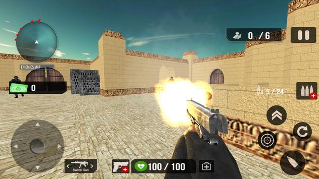 Counter Terrorist Shoot 3D apk screenshot