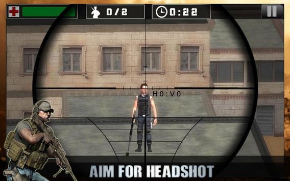 Elite Gunship Sniper Shooting - Hit Outer World screenshot 1