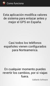 Gps Spain - España screenshot 2
