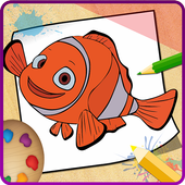 Finding Nemo: Coloring Book for Kids icon
