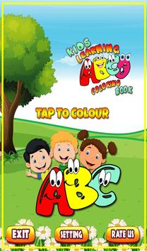 Coloring Book for Kids: Learning ABCD screenshot 10